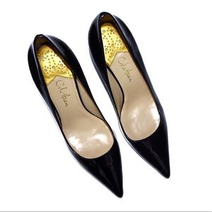 Cole Haan Patent Leather Pointed Toe Pumps 6.5B